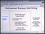 Cold Call main page